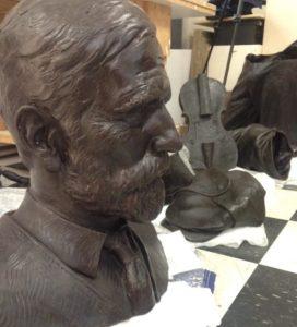 bronze casting process