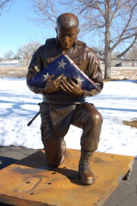 bronze foundry, military sculpture, Art Castings of Colorado