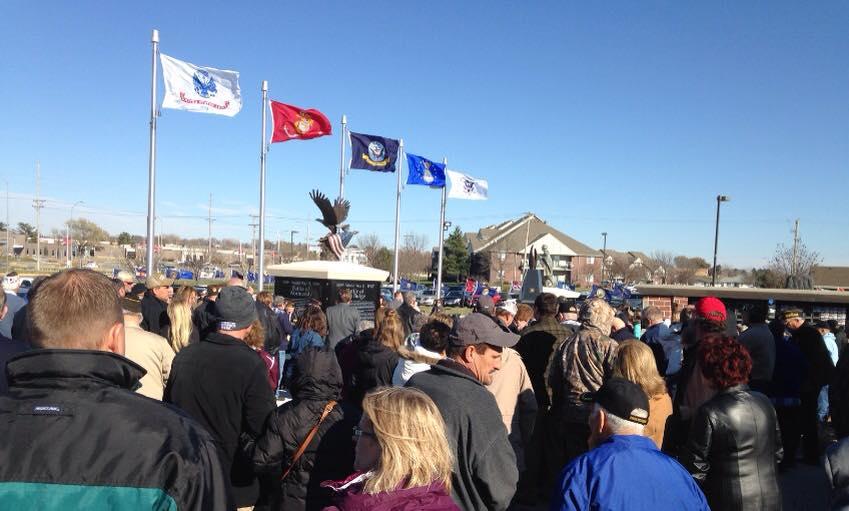 Norfolk Veterans Park dedication